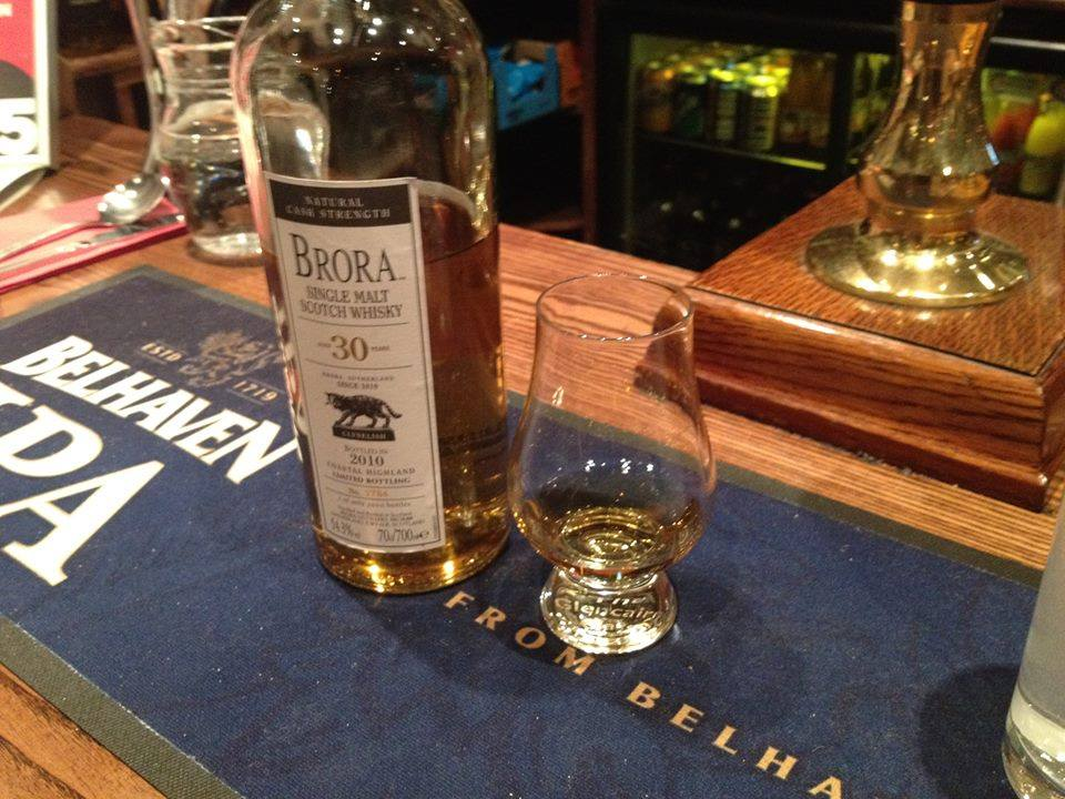 Brora 30 Y.O in the Albanach