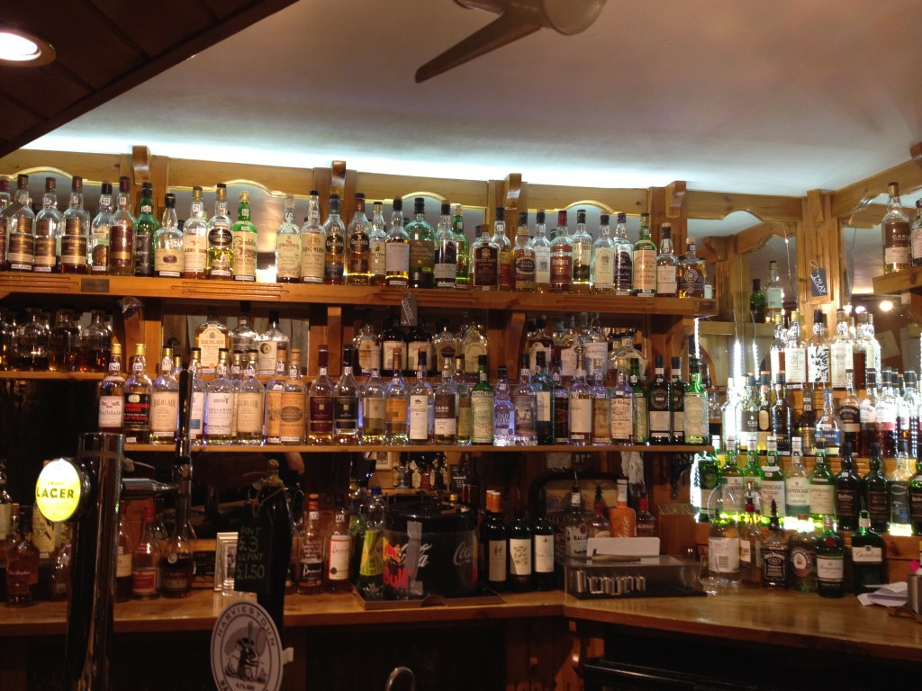 Dornoch Castle Whisky Bar