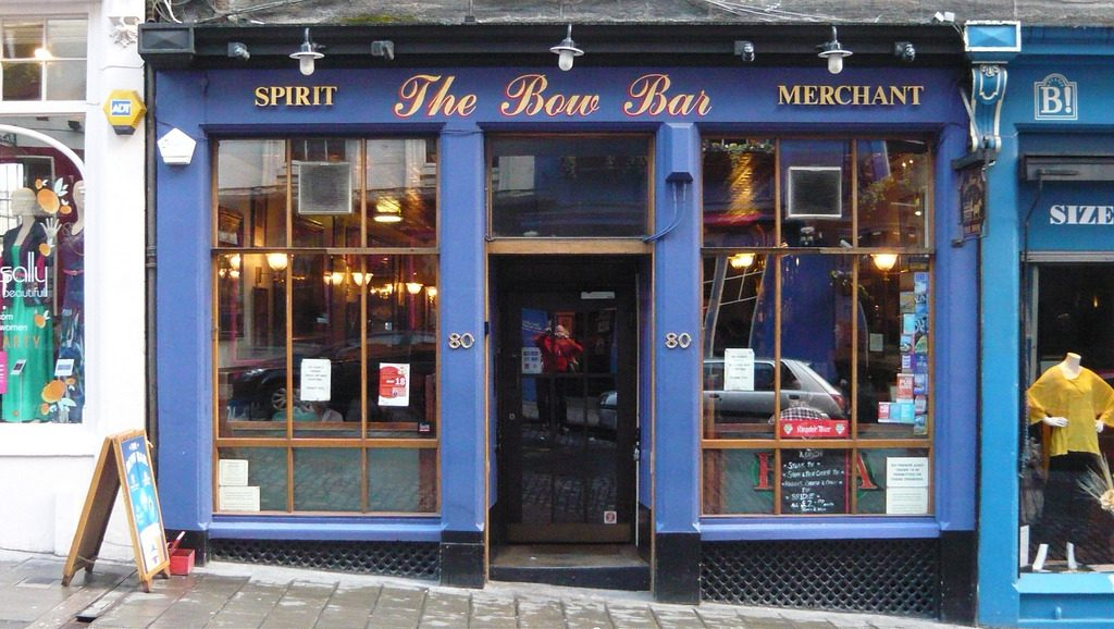 The Bow Bar Door